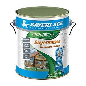 Massa para Madeira Sayermassa 6kg Sayerlack Cerejeira