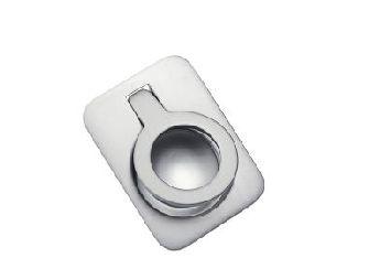 Puxador Metalsinos H1200 Escovado Concha Embutir