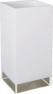 Abajur Enna - 23x12x12cm - Branco