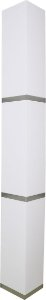 Coluna Enna Tripla - 180x20x20CM - Branco