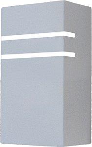 Arandela de Alumínio 22x12x8cm - Branca