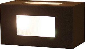 Arandela de Alumínio - 15x8x8cm