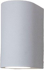 Arandela de Alumínio 15x10x8cm Branca D&D AR-557