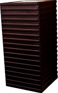 Arandela de Alumínio - 12x25x12cm - Preta