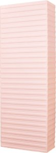Arandela de Alumínio - 14x40x6cm - Branca