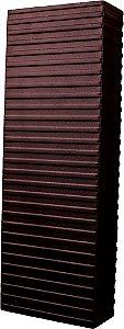 Arandela de Alumínio - 14x40x6cm - Preta