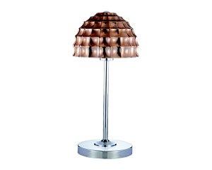Abajur Metal/Vidro Cobre 1XE27 MART 6563