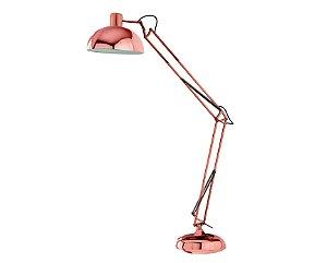 Luminária de mesa articulada em Metal Cobre 1XE27 MART 6819