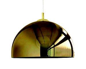 Pendente em Vidro Dourado 1XE27 MART 7337