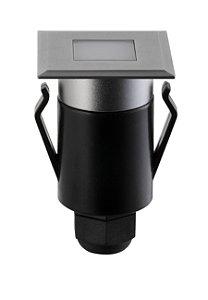 Balizador de Solo Quadrado Spur Efeito 2W 3.000k 80lm Bivolt Stella STH7709/30