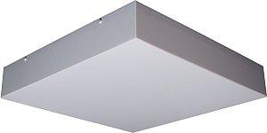 Plafon de Acrilico Quadrado 30x30x8CM D&D PL-413