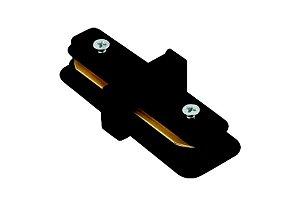 Conector em I Preto para Trilho Eletrificado Preto Stella SD1043PTO