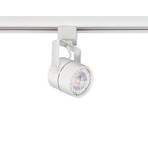 Spot Dicróica Branco para Trilho Eletrificado Branco Stella SD1050BR