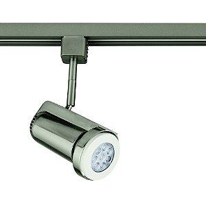 Spot PAR20 Satin Silver para Trilho Eletrificado Satin Silver Stella SD1070ST