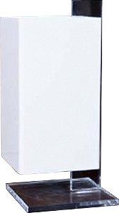 Abajur de Acrílico Lambo Branco D&D AB-400