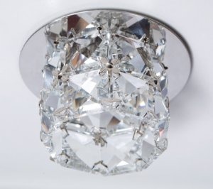 Semi Embutido de Cristal Transparente 7X10X5cm D&D EM-7
