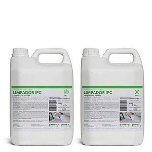 KIT LIMPADOR IPC - Detergente para extratoras - 2 unidades de 5 litros (antigo Limpador Soteco)