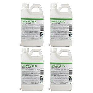 KIT LIMPADOR IPC - Detergente para extratoras - 4 unidades de 2 litros (antigo Limpador Soteco)