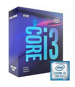 Processador Intel Core I3 9100F LGA 1151 9ª geração