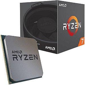Processador AMD Ryzen 7 2700 3.2GHz (4.1GHz Turbo) 20MB AM4
