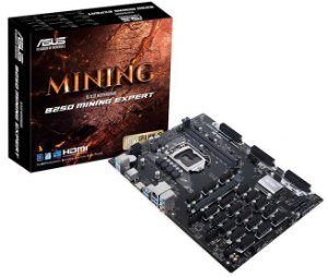 Placa mãe Asus B250 Mining Expert