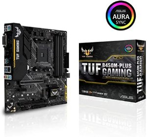 Placa Mãe Asus TUF B450M-Plus Gaming AM4 DDR4