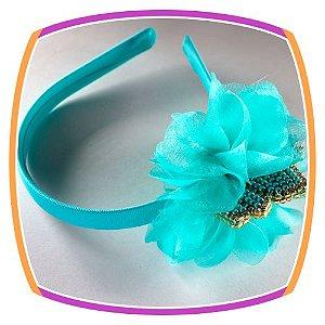 Tiara Flor e Coroa em Pérolas