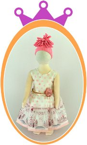 Vestido Estampa Country Cake