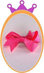 Bico de Pato Laço Gorgurão - Cor: Rosa - PAR