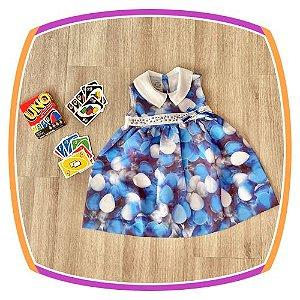 Vestido infantil Estampa de Bexigas