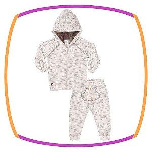 Conjunto para bebê de moleton