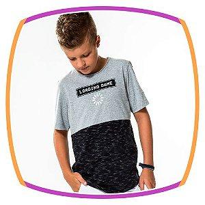 Camiseta infantil LOADING GAME