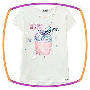 Blusa infantil em poli light com elastano e viscolycra SLIME