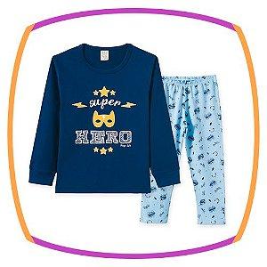 Pijama infantil estampa HERO