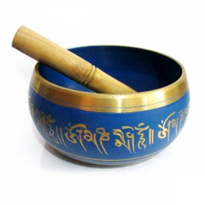 Sino Tibetano Tigela Tibetana Grande (15x8cm)