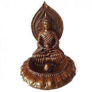 Incensario Buda Portal com Cristais (13cm)