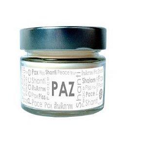 Vela Perfumada Pavio de Vela: PAZ (125g)