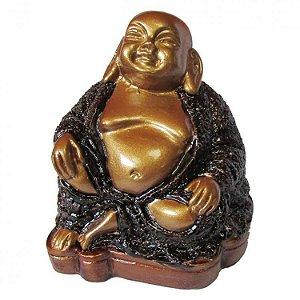 Buda Espiritual Feliz em Resina (8cm)