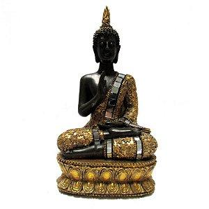 Buda Tailandês com Espelhos (17cm)