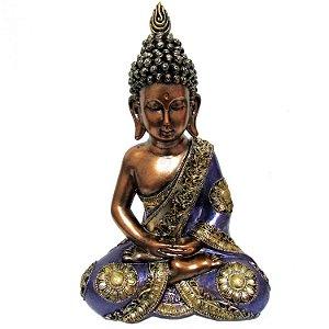 Buda Tailandês Sentado Grande (28cm)