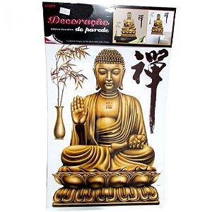Adesivo Decorativo Buda Sentado (56cm)