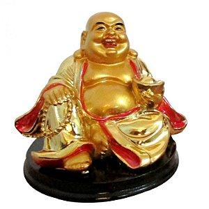 Buda da Alegria Sentado em Resina (7cm)