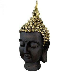 Cabeça de Buda Grande Busto em Resina (64cm)