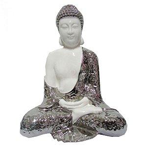 Buda Sentado em Porcelana (24cm)