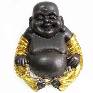 Buda da Alegria Dourado com Glitter (26cm)