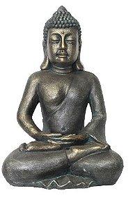 Buda Tibetano Grande com Gesto de Meditação (60cm)