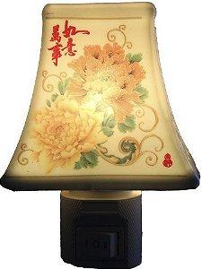 Aromatizador Elétrico com Ideogramas em Porcelana