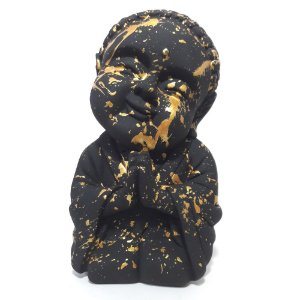 Buda Baby da Gratidão Grande (21cm) Urban Art Gold