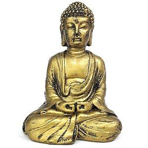 Estátua Buda Meditando Atman Mudra (11cm)