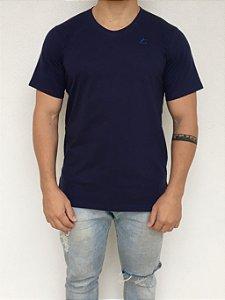 Camiseta Longline Azul Marinho